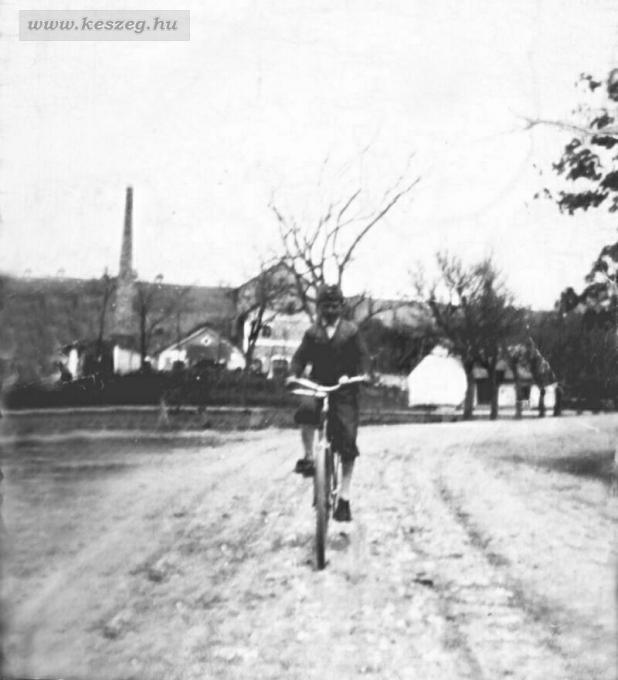 Szeszgyár mögött 1940 körül